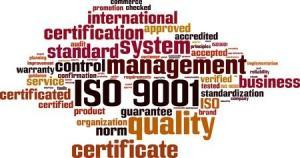iso 9001 quality management system word cloud
