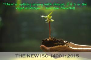 ISO 14001 2015 transition