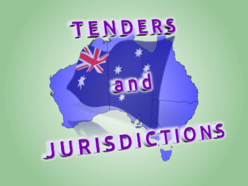 Tenders and Jurisdictions